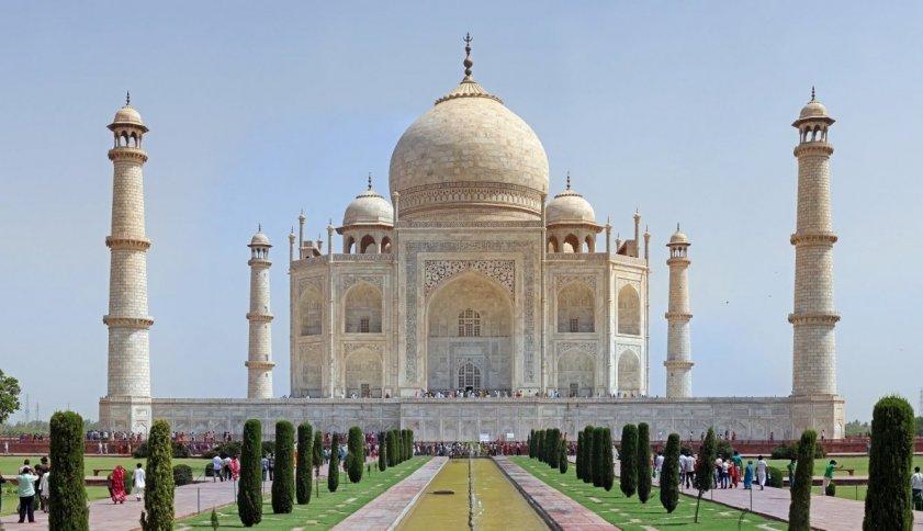 Тадж Махал памятник построенный во имя любви