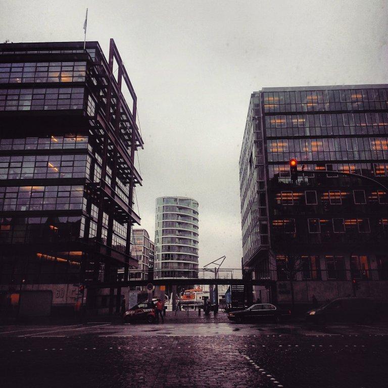 Пасмурный Гамбург